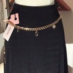 NWT! Juicy Couture Charm Belt